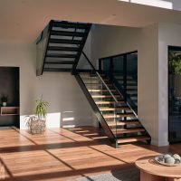Sydney staircase design for duplex