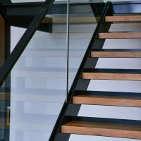 Sydney staircase design glass