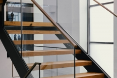single stringer stair design sydney nsw
