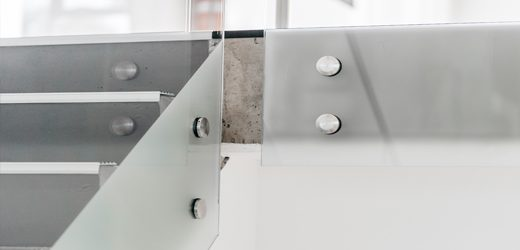 Stainless steel staircase Railing with Frameless Glass SydneyStainless steel staircase Railing with Frameless Glass Sydney